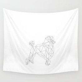 Poodle Wall Tapestry