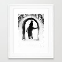 apocalypse now Framed Art Prints featuring apocalypse now by Ariel Simon