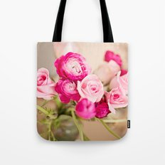 Bunches of Pink Tote Bag