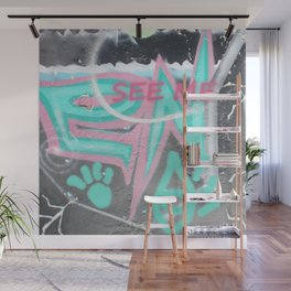 see me Wall Mural