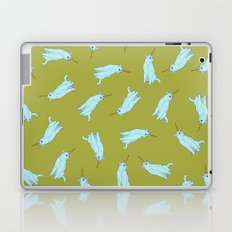 Uni Cat - Baby Blue Laptop & iPad Skin