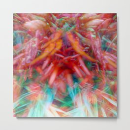 Growth and movement, or especially when you're not looking, 4. Metal Print
