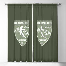Girdwood Alaska Blackout Curtain