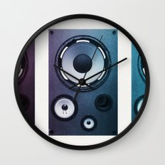Stereo Sound Wall Clock