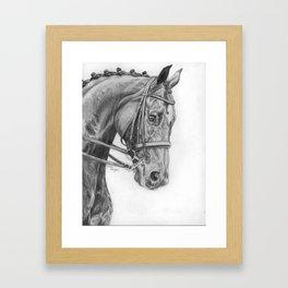 Blue Ribbon Winner Framed Art Print