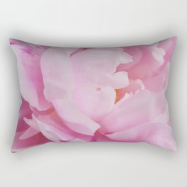 Floral Fun - Peony in pink 4 soft and billowy Rectangular Pillow