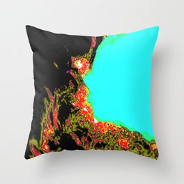 Candel Throw Pillow
