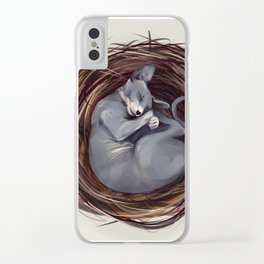 Cosiness Clear iPhone Case