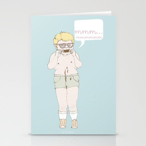 mmm... Stationery Cards
