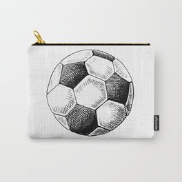 Football ball sketch Carry-All Pouch