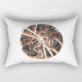 Magma Emblem on white Rectangular Pillow