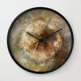 Moon Implosion Wall Clock