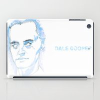 dale cooper iPad Cases featuring Dale Cooper by kjell