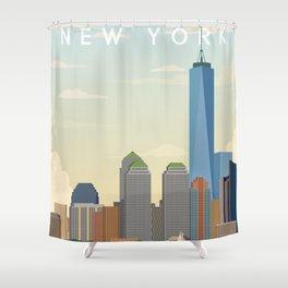 New York City Landscape Shower Curtain