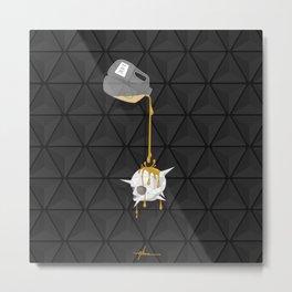 """Desert Fox Protocol"" By: Allan Calangan Metal Print"