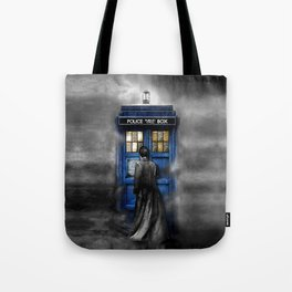 Halloween 10th Doctor lost in the mist Tote Bag