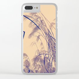 Hay landscape Clear iPhone Case