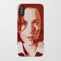 scully iPhone & iPod Cases featuring Dana Scully by Laura