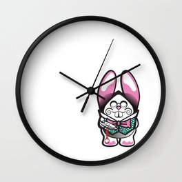 Oh My Whiskers Wall Clock