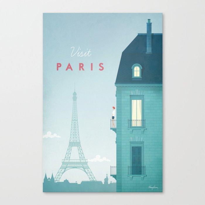 Paris Leinwanddruck