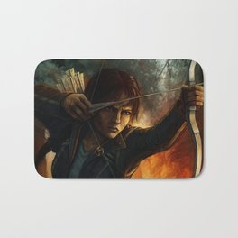 Katniss Everdeen Bath Mat
