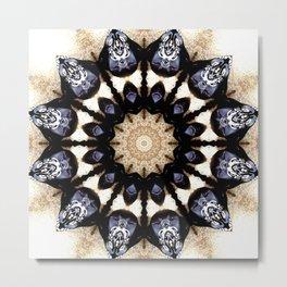 Get through it - Modern mandala Metal Print
