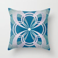 infinity Throw Pillows featuring Infinity by Enrico Guarnieri 'Ico-dY'