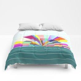 loco in acapulco Comforters