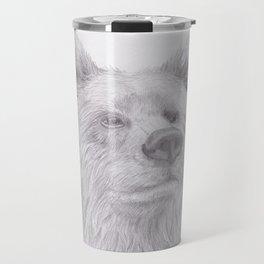 Thoughtful Bear Travel Mug