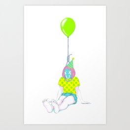 Party Girl Art Print