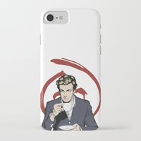 patrick iPhone & iPod Cases featuring Patrick Jane by Renan Lacerda