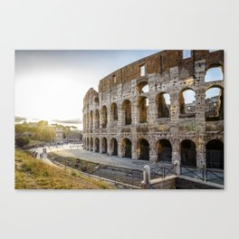 The Colosseum of Rome Canvas Print