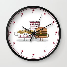 BFF: Meal Deal Wall Clock
