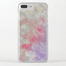 Unicorn Blood Clear iPhone Case
