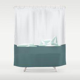 ISBJERG #01 Shower Curtain