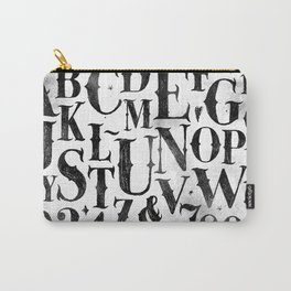 Vintage gothic alphabet Carry-All Pouch