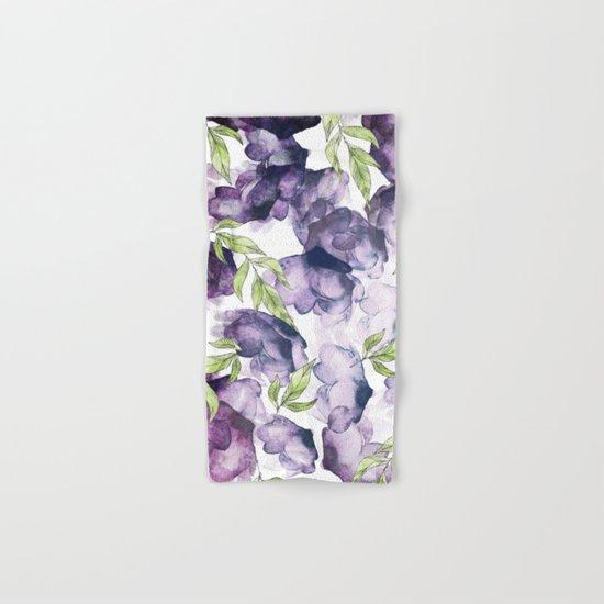 Watercolor + Ink Florals #society6 #decor #buyart Hand & Bath Towel