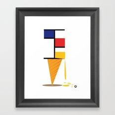 Ice-cream museum Framed Art Print