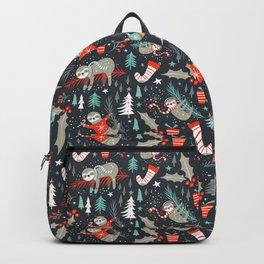 Slothy Holidays Backpack