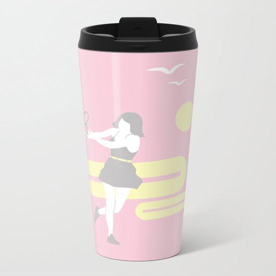 Tennis Metal Travel Mug