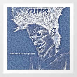 The Cramps Art Print