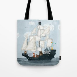 a nautical adventure Tote Bag