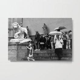 Uffizi Gallery Metal Print
