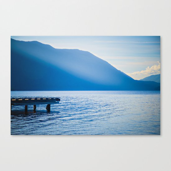Crescent Lake, Olympic Peninsula, Washington Canvas Print