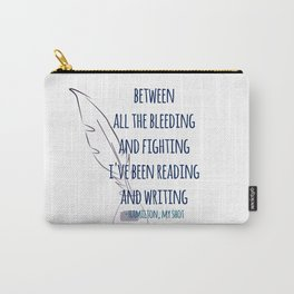 READING AND WRITING | HAMILTON Carry-All Pouch