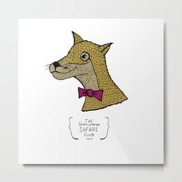 The Gentlemen's Safari Club  Metal Print