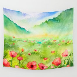 Spring Scenery #4 Wall Tapestry