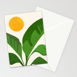 Above The Treetops / Tropical Plant Series Stationery Cards