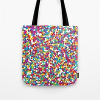 crystal Tote Bags featuring Crystal by Simon C Page