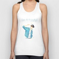 ezra koenig Tank Tops featuring Cool as a cucumber by Galaxyspeaking